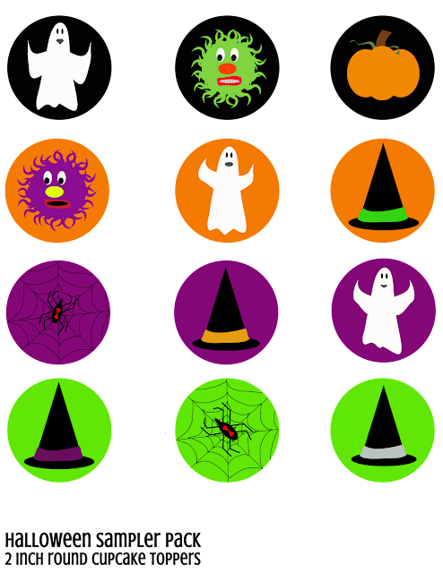 Fun Halloween Party Printables!! They can be used for so many different things!!