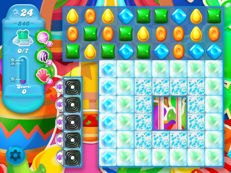 Candy Crush Soda Saga 846