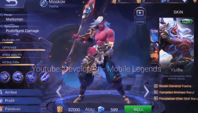 Bocoran Skin Season 7 Mobile Legends