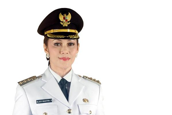 Wali Kota Tegal Siti Masitha Soeparno yang terjaring OTT KPK