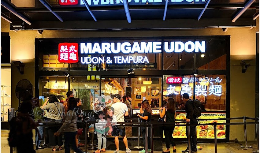 Restaurant Review: Marugame Udon at Bonifacio Global City