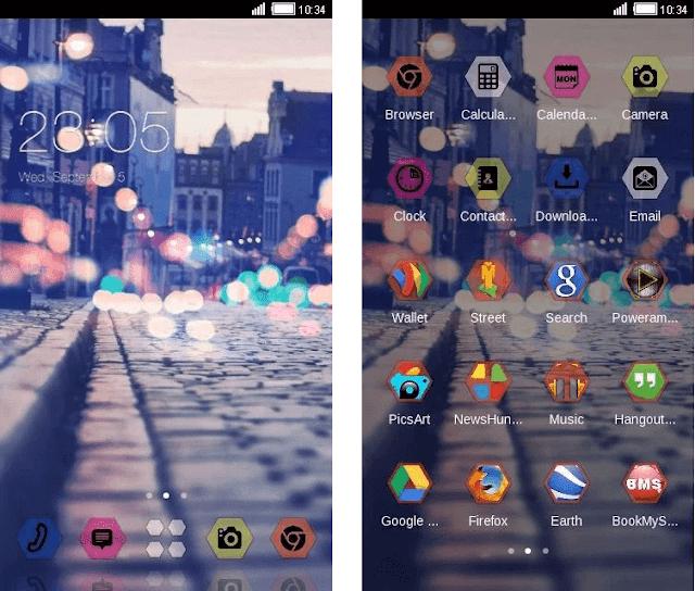 street night view theme