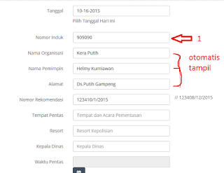 Auto Complete Form Isian dengan PHP