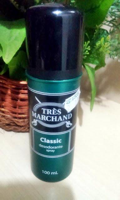 Achegue-se! Comprei e gostei, desodorante Tres Marchand classic