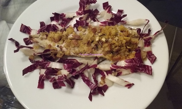 Filetti di sgombro impanati al forno - Baked crumbed mackerel fillets
