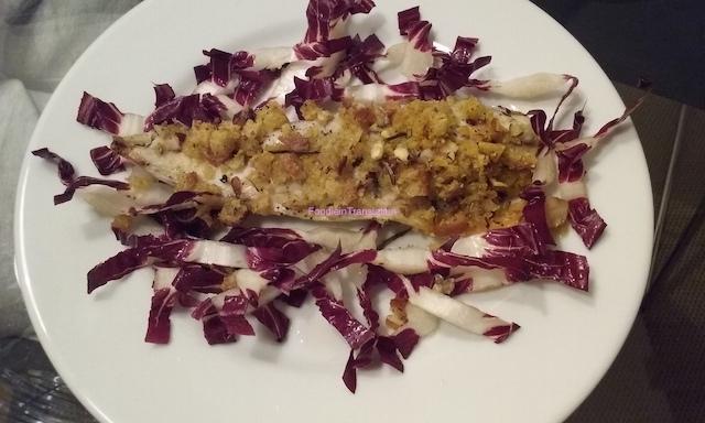 Filetti di sgombro impanati al forno - Baked crumbed mackerel fillets