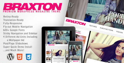 Download Braxton v2.7 Premium WordPress Magazine Theme