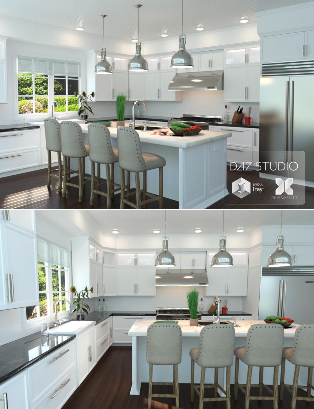 Download Daz Studio 3 For Free Daz 3d Modern Kitchen