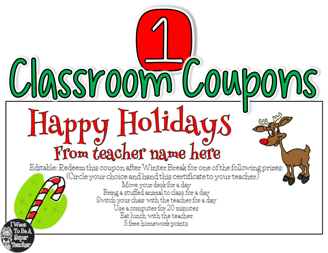 5 Simple Holiday Student Gift Ideas from Teachers - I Want ...