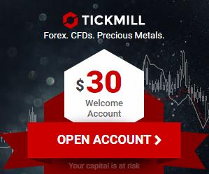 أحصل على 30$ بونص مجانى بدون ايداع مع Tickmill
