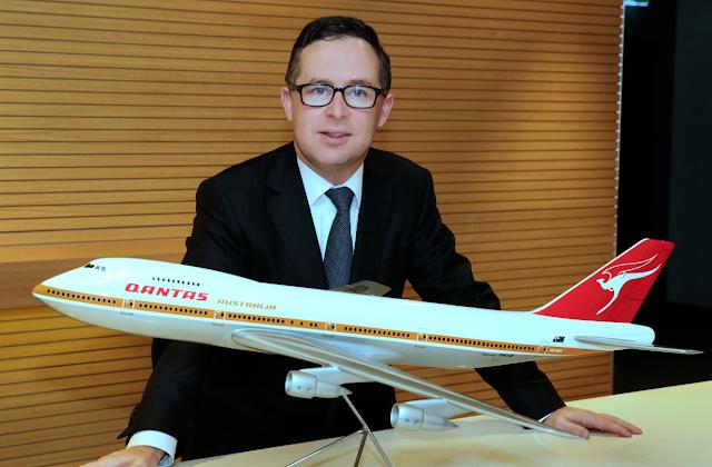 Alan Joyce, CEO da empresa de aviação Qantas