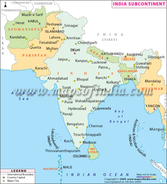 Geography of India and Indian Subcontinent  The Northern