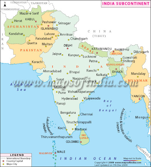 Geography of India and Indian Subcontinent - The Northern Mountains