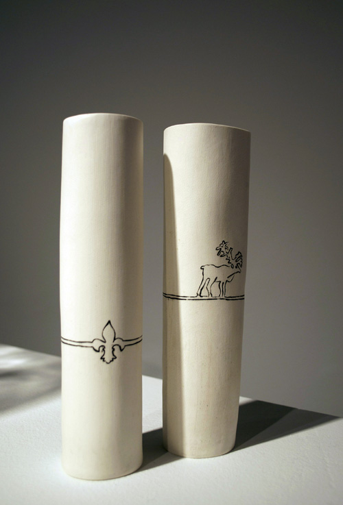 If It S Hip It S Here Archives Canadian Emblem Vases By Katharine Morley