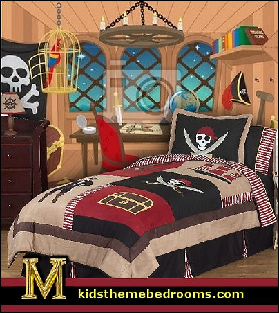 Decorating Theme Bedrooms Maries Manor Pirate Bedroom