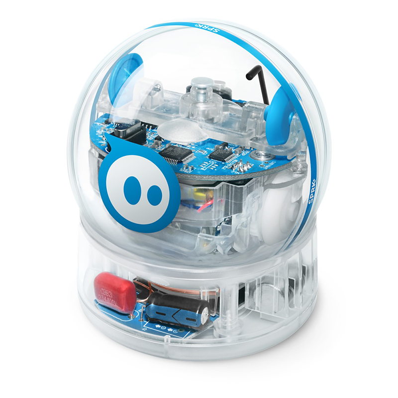 Sphero SPRK+ has a crystal clear polycarbonate shell