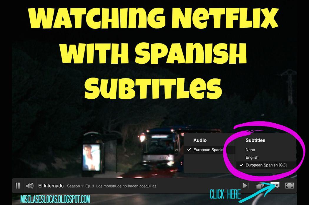 How do i watch netflix in spanish