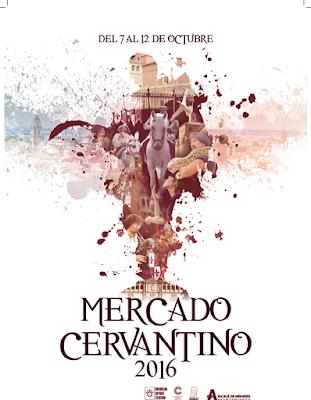 Mercado Cervantino en Alcalá de Henares, del 7 al 12 de octubre