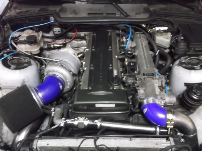 Maleckis Motorsport English: BMW 1JZ/2JZ GTE engine swap