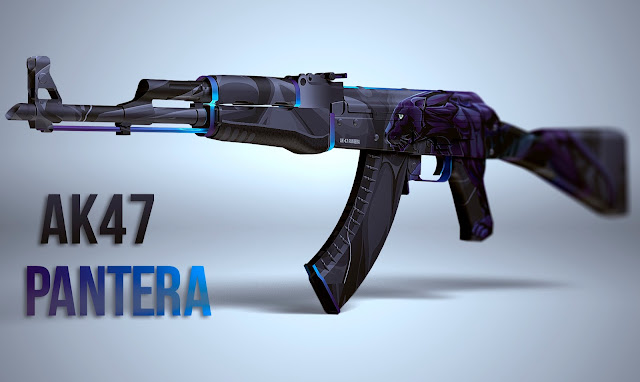Workshop Warsztat Steam CS GO - AK-47 | Pantera