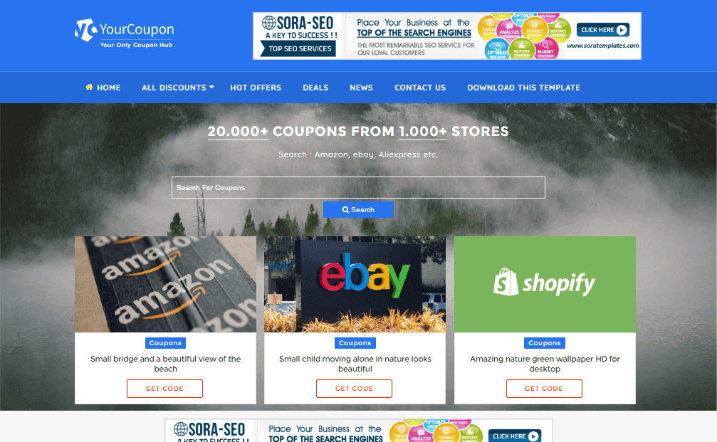 Your coupon parallax blogger template free download games softwares your coupon parallax blogger template cheaphphosting Images