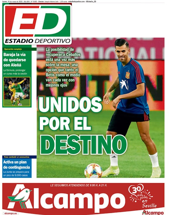 """Betis, Estadio Deportivo: """"Unidos por el destino"""""""