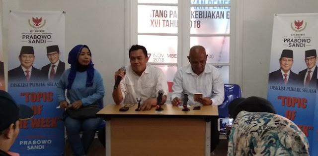 Kubu Jokowi-Ma'ruf Tidak Perlu Panik Menyikapi Sumber Dana Kampanye