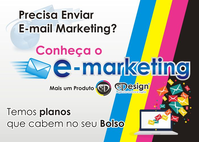 Precisa Enviar E-mail Marketing? Conheça o E-marketing da CS Design - AGD