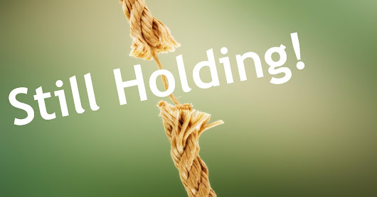 Hanging On When God Deals You A Frayed Rope