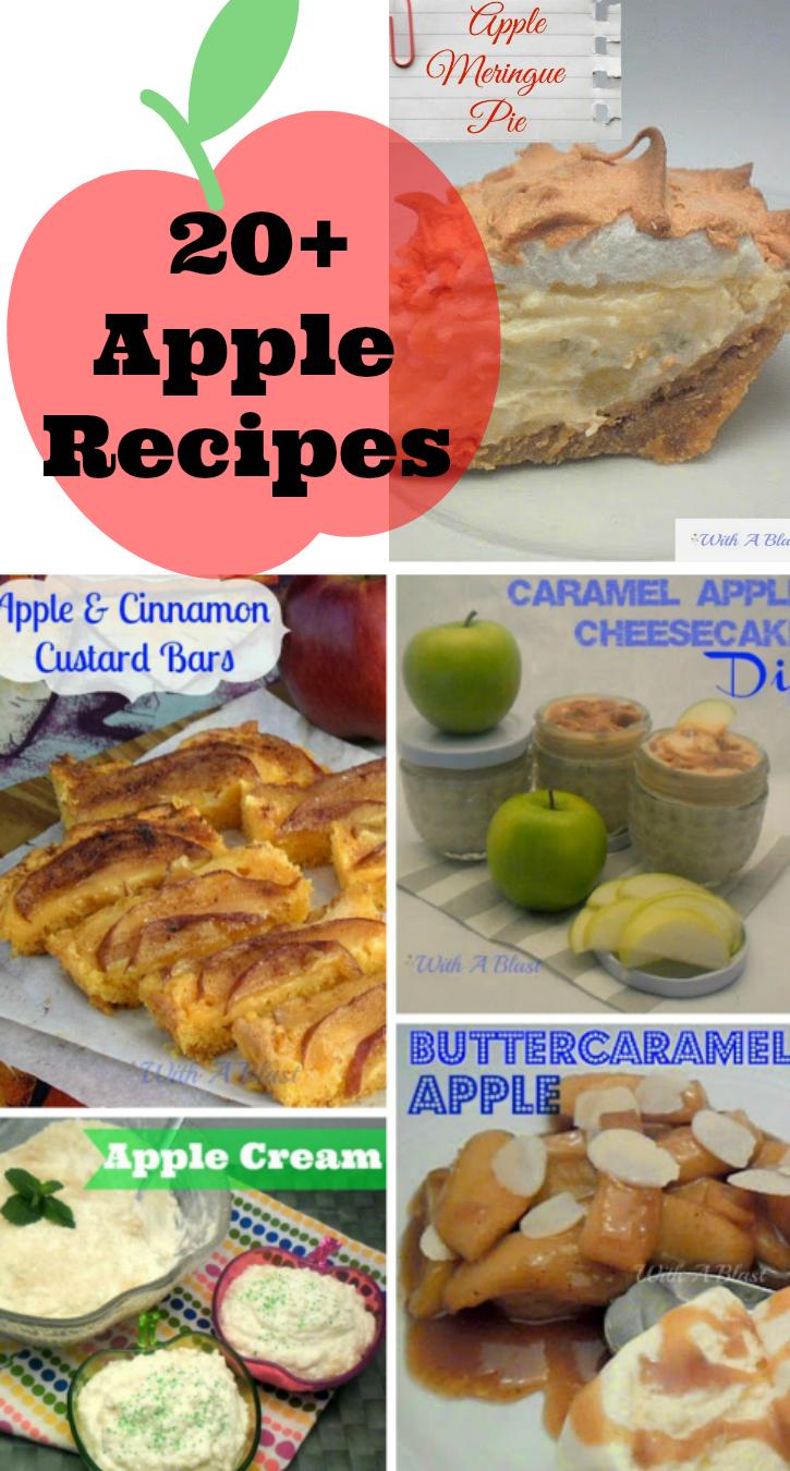 20+ Apple Recipes