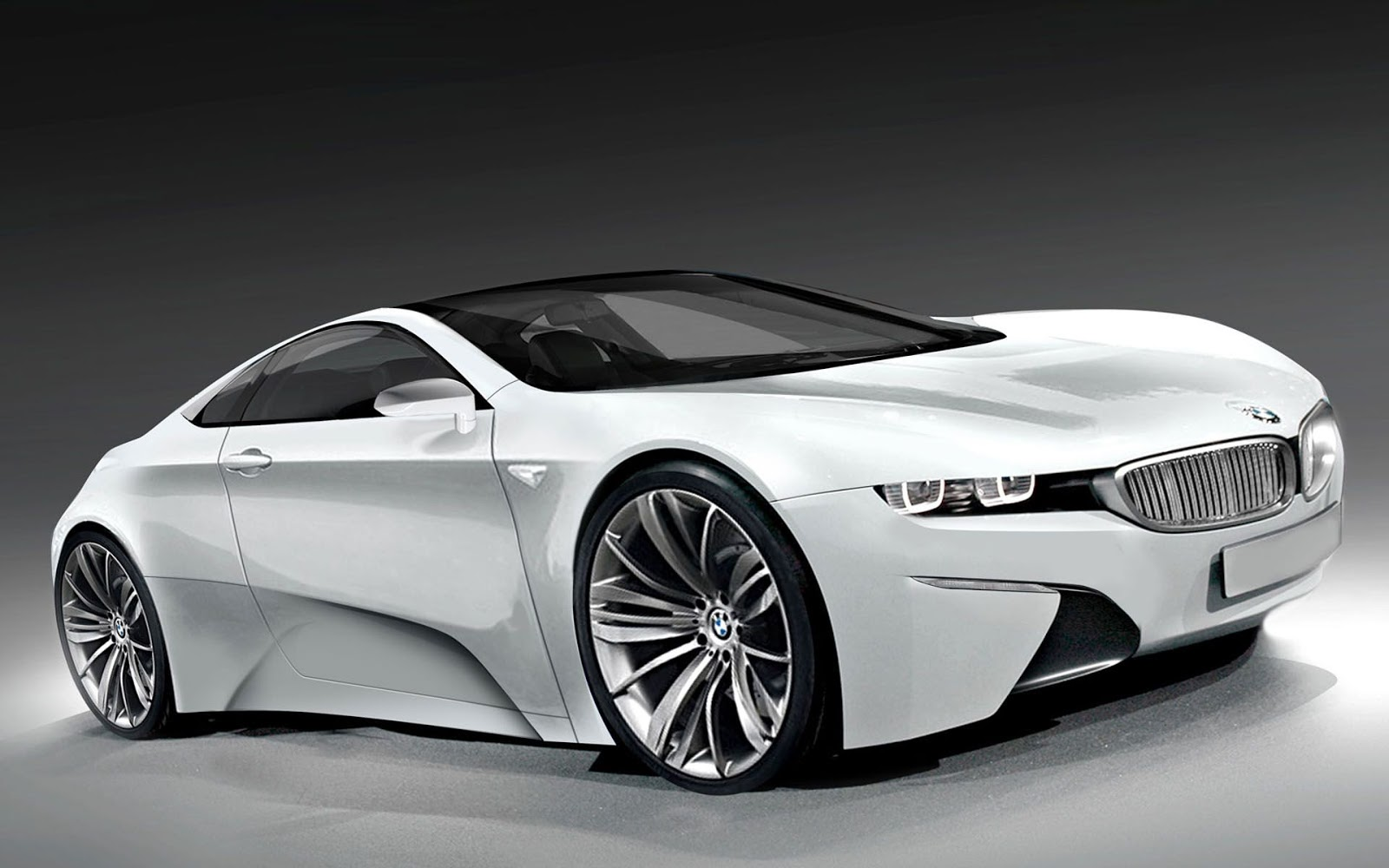 Bmw I8 Back Cars Wallpapers