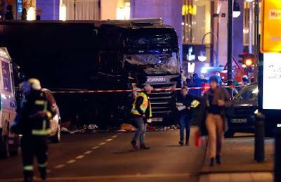 Suspeito de ataque em mercado de Berlim é morto em Milão, diz fonte de segurança