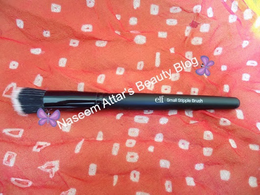 Elf Brush. Elf Stipple brush. Elf studio small stipple brush ~ Naseem Attar's Beauty Blog