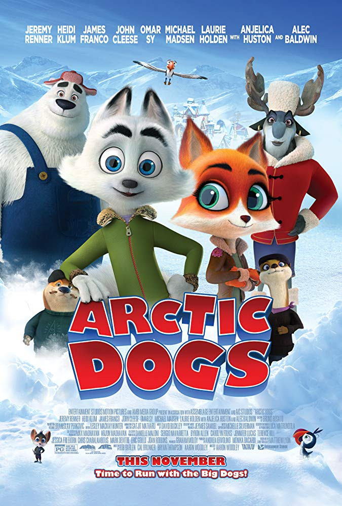 Arctic Dogs 2019 English Movies 300MB BluRay Download