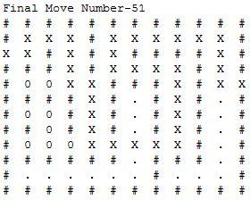 Maze traversal using recursive backtracking in java ~ OctopusFunda