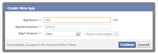 Facebook Login authentication