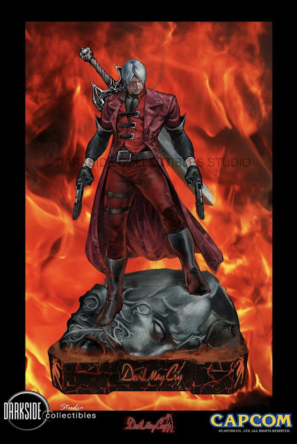 "Figuras: Anunciada primera figura de Dante del ""Devil May Cry"" - DarkSide Collectibles"