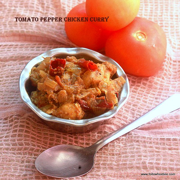 Tomato Pepper chicken Recipe
