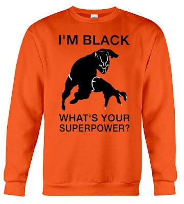 I'm Black Panther What's Your Superpower Hoodie