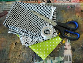 DIY selbstklebende Stoffbänder: das braucht ihr