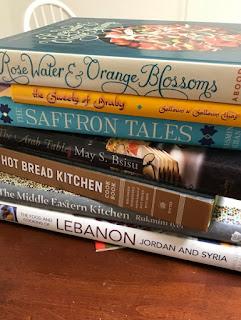 Cookbooks on the Middle East
