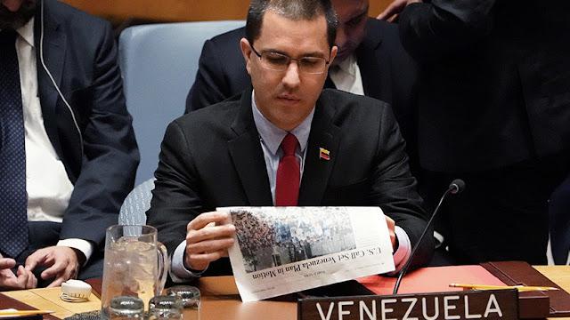 """Venezuela """"responderá por las vías jurídicas"""" a las nuevas sanciones de EE.UU."""
