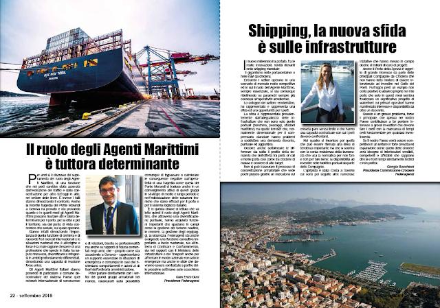 SETTEMBRE2018 PAG. 23 - Shipping, la nuova sfida è sulle infrastrutture