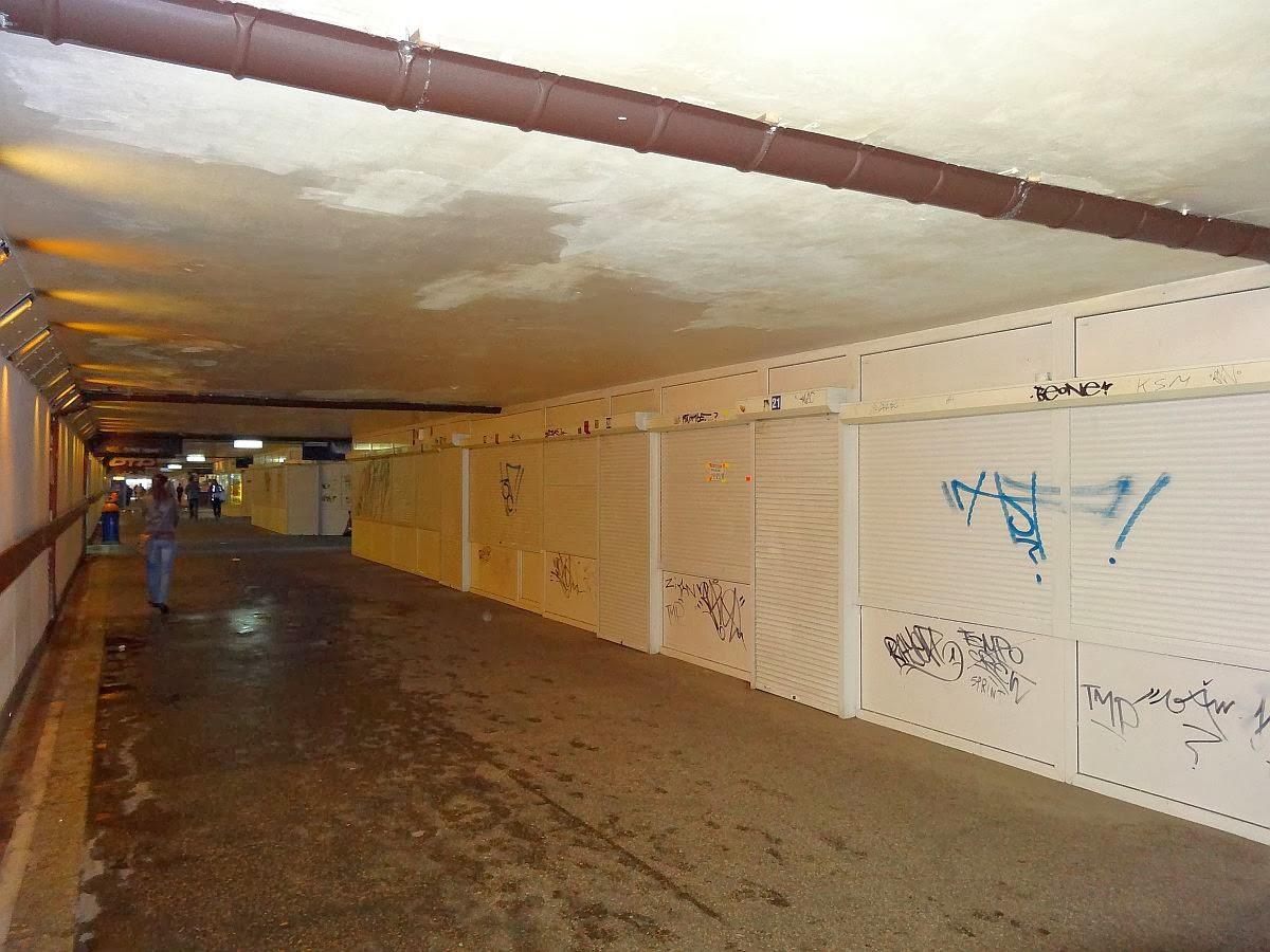 Przejście podziemne pod torami stacji Kielce
