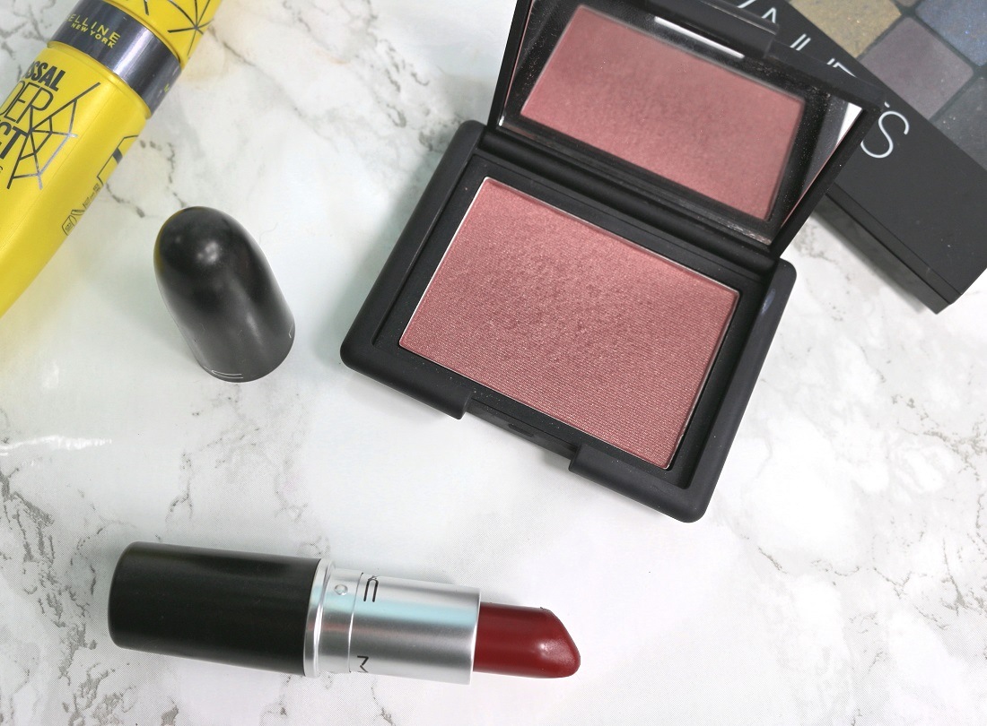 October Favourites NARS Sin Blush, MAC Diva Lipstick