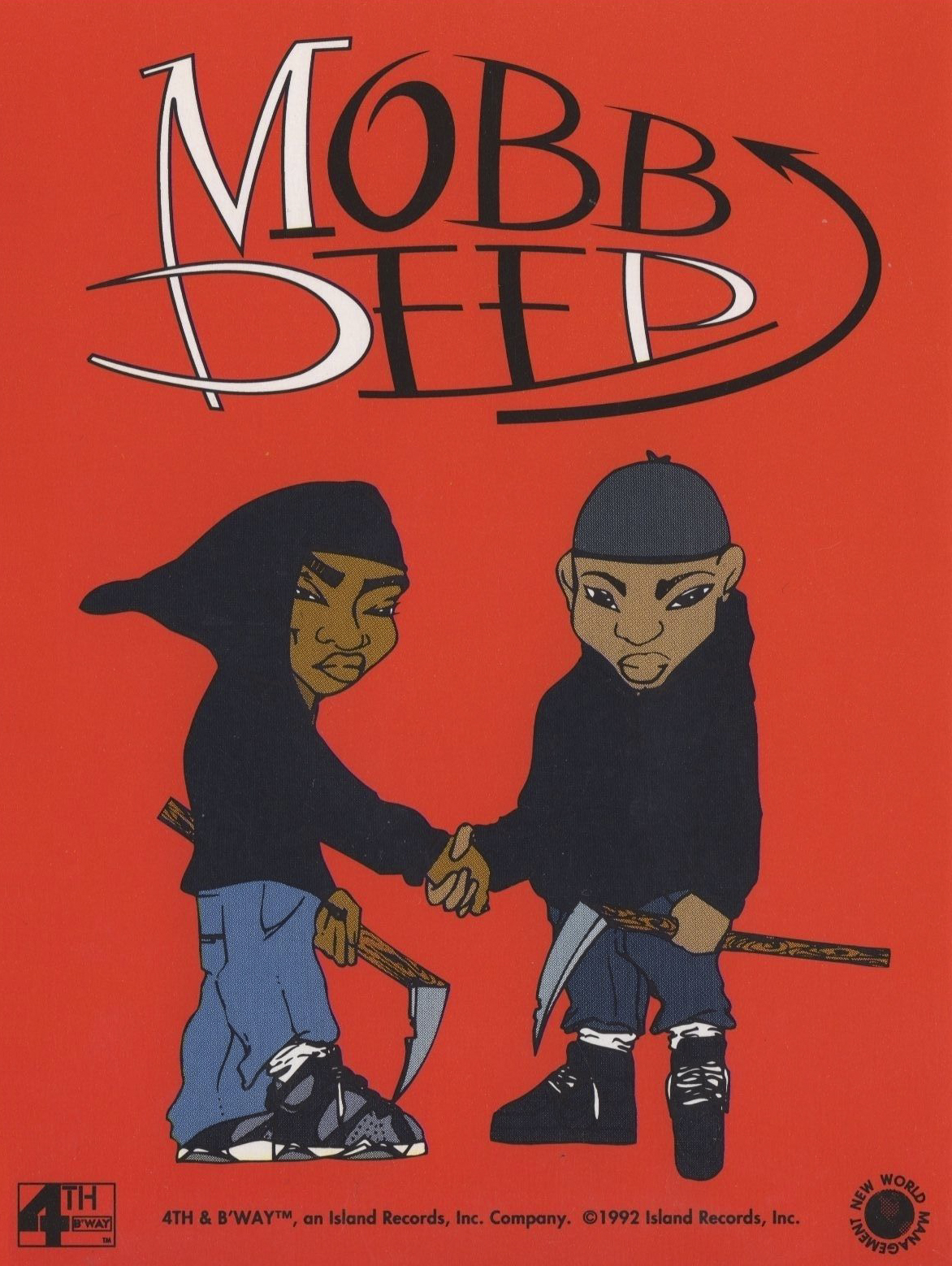 "Mobb Deep Juvenile Hell Prodigy Havoc Sticker ""Hip-Hop Nostalgia"""