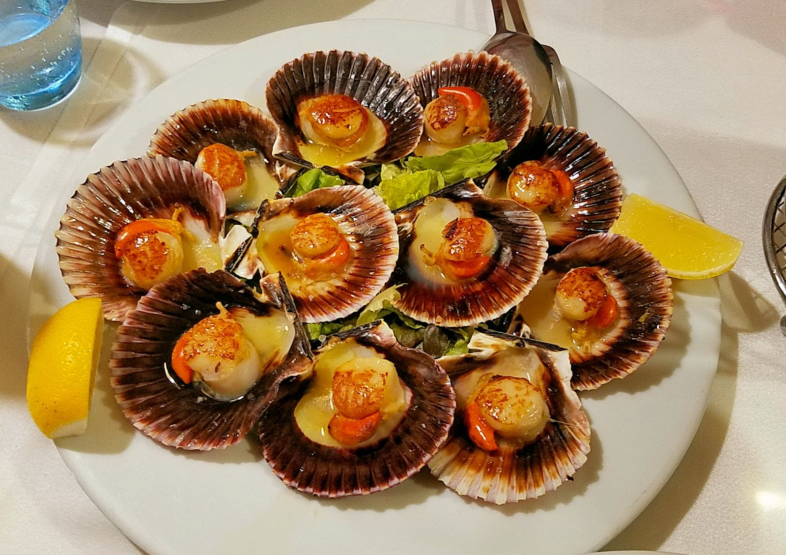 Scallops ... of course!