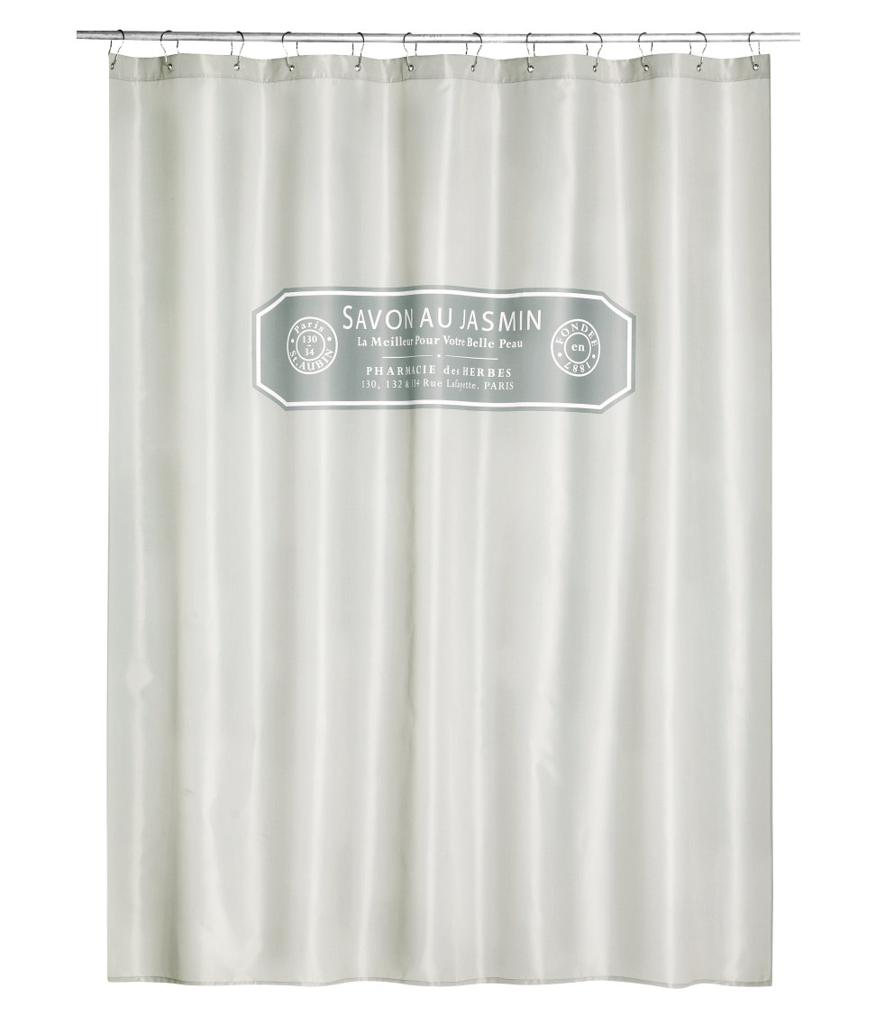Soap Label Curtain From HM Home