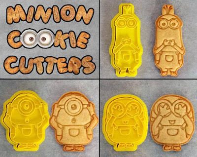 Minion Cookie Cutter Set