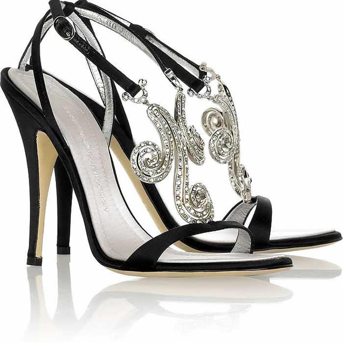 Black Bridal Shoes